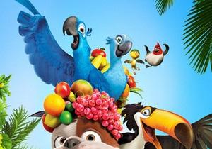 Мультфильм Рио продолжает лидировать в кинопрокате по всему миру