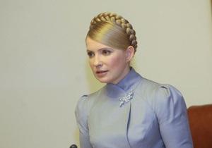 Тимошенко обещает применять  железную руку  только ради защиты интересов Украины