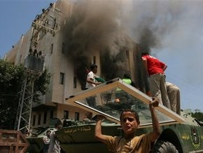 В секторе Газа палестинская ракета убила двух девочек-палестинок