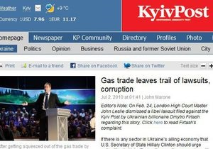 Kyiv Post снова открыл доступ к сайту в Британии, заблокировав статью о Фирташе