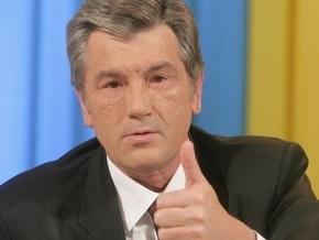 Ющенко говорит о позитиве: Точка в падении курса гривны практически достигнута