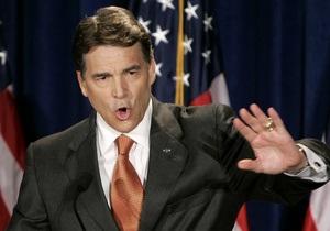 Губернатор Техаса намерен бороться за пост президента США