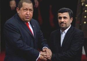 Чавес считает, что Венесуэла и Иран должны остановить  империалистическое безумие