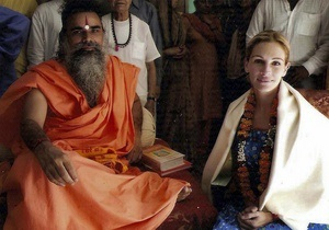 Джулия Робертс призналась, что приняла индуизм