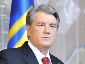 В Хоружевке Ющенко попросили как можно дольше оставаться лидером нации
