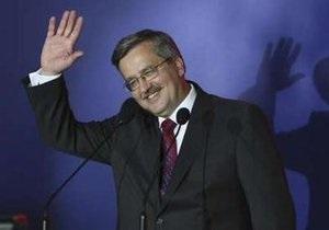 Экзит-полл: Коморовский лидирует на выборах президента Польши