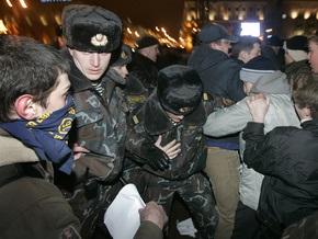 В Беларуси разогнали митинг оппозиции