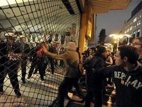 В Греции с новой силой вспыхнули стычки анархистов с полицией