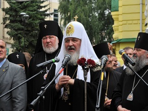 НГ: Патриарх Кирилл прошел Ровно
