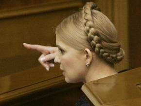 Тимошенко назвала неправдой то, что Украина больше всех страдает от кризиса