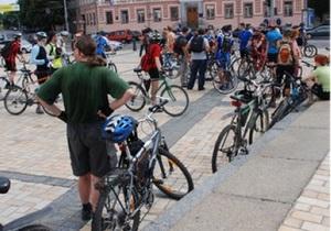 Киевские велосипедисты просят мэрию выделить средства на велодорожки