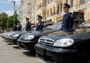 МВД Украины передаст в школы десять подаренных милиции машин