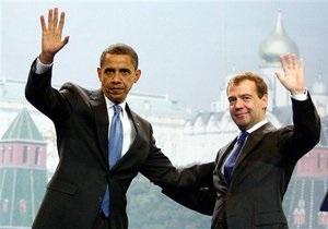 Обама и Медведев заявили, что гарантируют безопасность Украины как неядерной страны