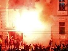 Число пострадавших на улицах Белграда достигло 84 человек (обновлено)