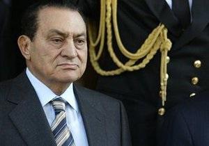 Судебный процесс над Мубараком начнется 3 августа