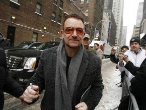 Боно назвал лидера Coldplay  идиотом