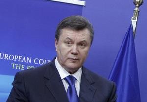 Янукович поручил Тимошенко обеспечить подготовку его визита в Россию