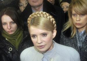 Сегодня состоится заседание Высшего админсуда по иску Тимошенко