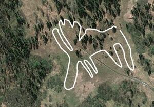 Российские ученые считают гигантское изображение лося под Челябинском древнейшим геоглифом