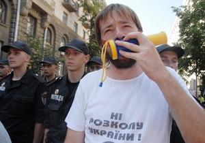 Житель Днепродзержинска подал в суд на Януковича и Литвина из-за языкового закона