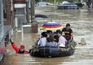 В Южной Корее из-за ливней погибли 32 человека