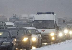 В ДТП в Венгрии шесть украинцев получили тяжелые травмы