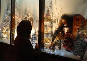 В новогодне-рождественском поселке в центре Киева будут работать зооуголок со страусятами и луна-парк