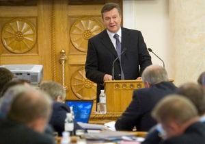 Янукович призвал украинские посольства не сплетничать, а заниматься  экономизацией