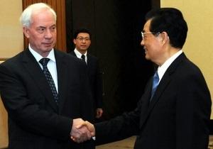Партия регионов подписала договор о сотрудничестве с китайскими коммунистами