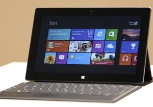 На планшет Microsoft подали в суд за обман