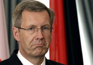 Президент Германии ушел в отставку