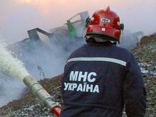 В Киеве произошел пожар близ посольства Норвегии