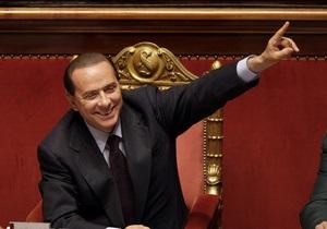 Берлускони заявил, что отговорил Путина нападать на Тбилиси в 2008 году
