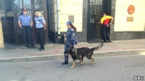 С заседания по делу Pussy Riot эвакуировали людей