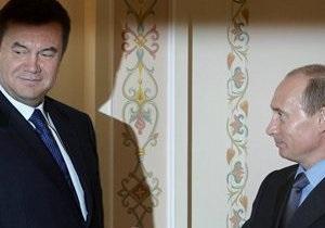 СМИ озвучили дату встречу Януковича и Путина после торговых трений
