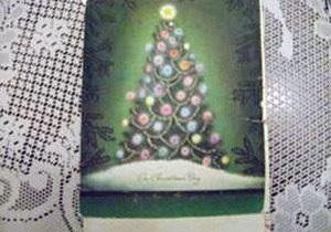 В США рождественская открытка переходила от адресата к адресату  61 год