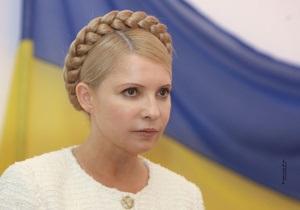 Тимошенко заявила, что ее хотят убить, и ей страшно