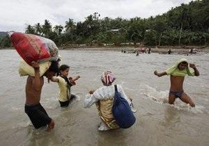 Тайфун на Филиппинах: число погибших достигло 1500 человек