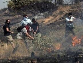 Большинство очагов лесных пожаров, угрожавших Афинам,  удалось ликвидировать