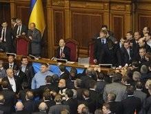 Партия регионов требует отставки Яценюка. Янукович против