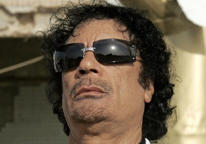 Каддафи заявил, что его невозможно убить
