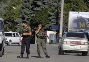 Южная Осетия заявила, что не допустит на свою территорию торговых контролеров ВТО