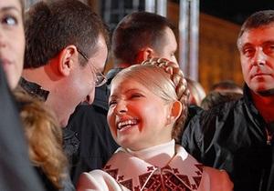 Тимошенко раскритиковала заявления Януковича: На воре шапка горит