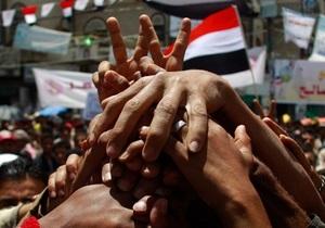 В Йемене оппозиция и президент достигли соглашения о прекращении огня