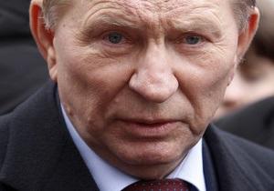 Кучма назвал обвинения Мельниченко в покушении на Витренко абсурдными