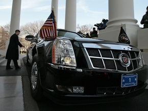 По дороге в школу кортеж Обамы останавливался на каждом светофоре