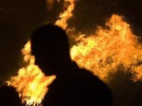 В Сумской области горели ядохимикаты