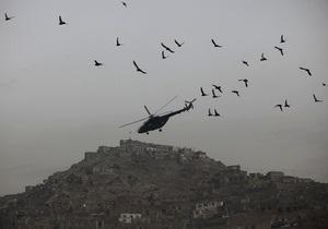 В пригороде Кабула упал вертолет с турецкими военными