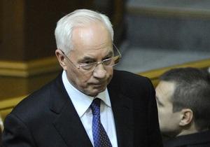 Азаров назвал главные достижения 2012 года
