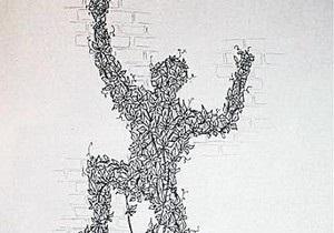 В Киеве появится скульптура человека из виноградных листьев